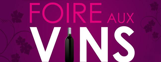 Foire aux vins du 19 sept au 5 oct