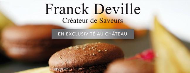 Macarons Franck Deville en exclusivité au Château