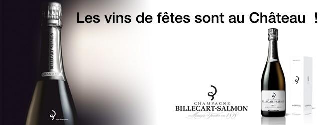 Les vins de fêtes sont au Château  !