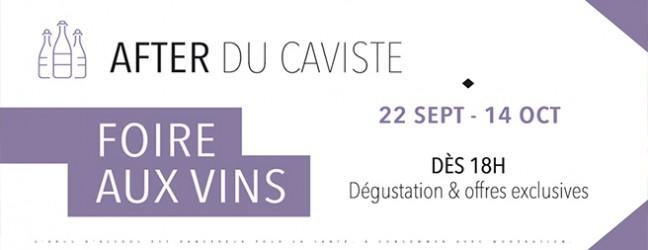 Foire aux vins du 22 sept au 14 oct 2017